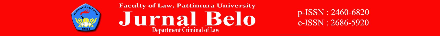 Jurnal Belo Header Image
